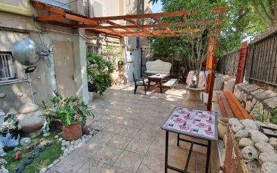 דירת גן למכירה בבית שמש הותיקה
